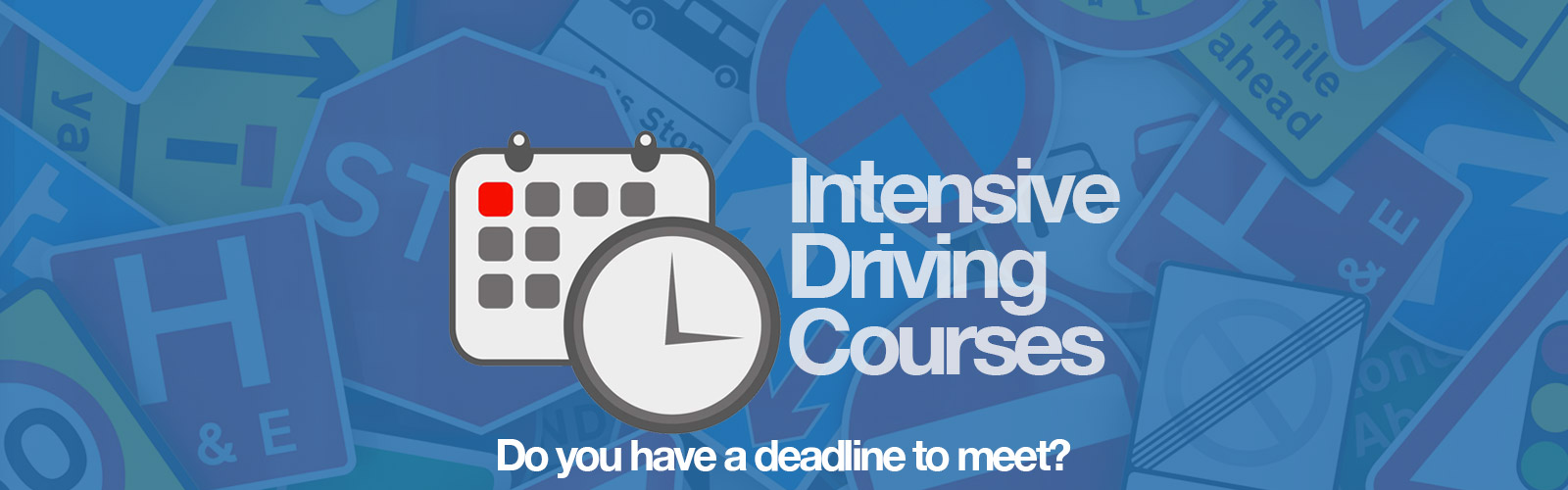 Intensive Driving Courses Top Image