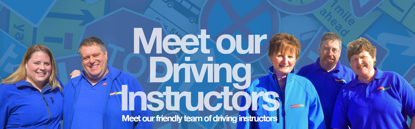 Meet our Driving Instructors Top Image